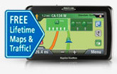 GPS with Lifetime Maps & Traffic