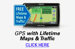 GPS With Liftime Maps & Traffic