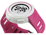 """Magellan Echo Pink Brand New Includes One Year Warranty, The Magellan Echo is a sleek fitness watch with Heart Rate Monitor designed primarily for running, cycling, swimming and other outdoor activities"