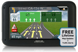 Magellan GPS w/ Bluetooth Connectivity magellan roadmate 5270t lmb