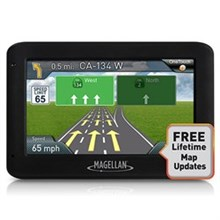 Magellan 4.3inch with Lifetime Maps  magellan roadmate 2525 lm