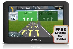 Magellan 5inch with Lifetime Maps  magellan roadmate 5520 lm RM5520GLUC Lifetime Maps