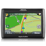 """Magellan RoadMate 1420  Product # RM1420SGXUH The Magellan Roadmate 1420 automobile portable navigator features a 4"