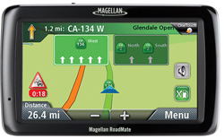 Magellan GPS w/ Bluetooth Connectivity magellan roadmate 5045t eu