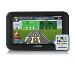Magellan GPS w/ Bluetooth Connectivity magellan roadmate 5270t lmb r