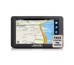 Magellan GPS w/ Bluetooth Connectivity magellan roadmate 6615 lm with free lifetime maps